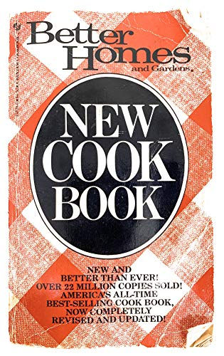 9780553225280: Better Homes & Gardens New Cookbook (Red Checkered Cover)