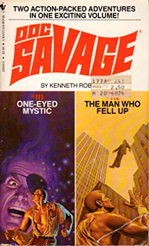 One-Eyed Mystic/the Man Who Fell Up (Doc Savage): Robeson, Kenneth