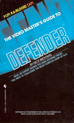 9780553229806: The video master's guide to Defender