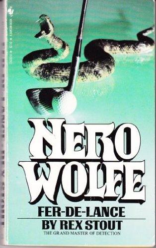 9780553230338: Title: FerdeLance a Nero Wolfe mystery