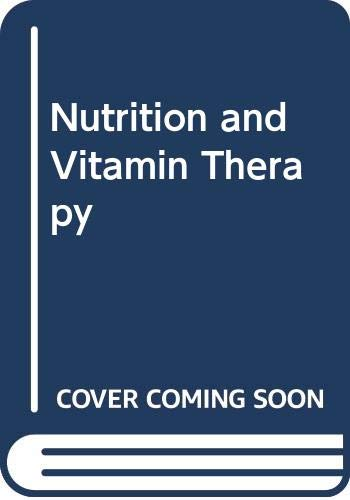 9780553230642: Nutrition and Vitamin Therapy