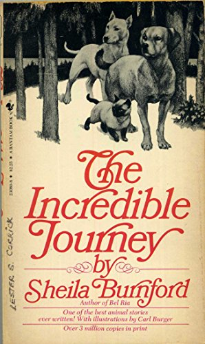 Incredible Journey: Burnford, Shelia; Burnford, Shella