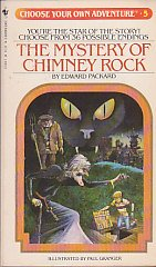 9780553231847: The Mystery of Chimney Rock (Choose Your Own Adventure #5)