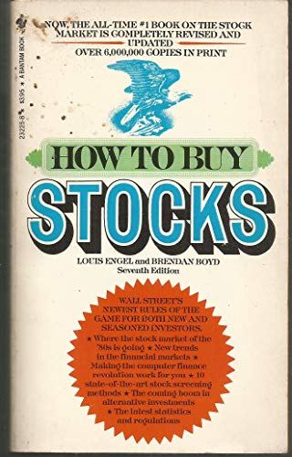 9780553232257: How to Buy Stocks
