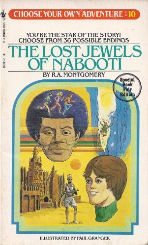 9780553232318: The Lost Jewels of Nabooti (Choose Your Own Adventure, No. 10)