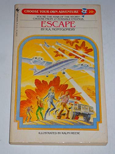 9780553232943: Escape (Choose Your Own Adventure #20)