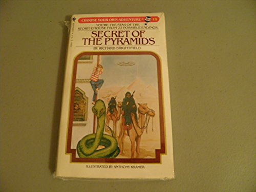 9780553232950: Secret of the Pyramids (Choose Your Own Adventure, No. 19)