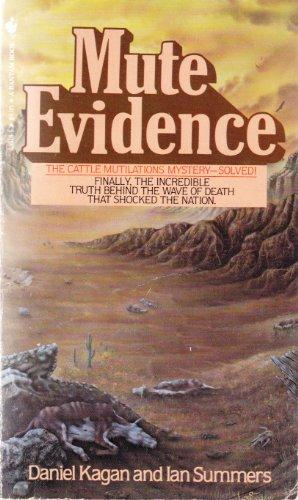 9780553233186: Mute Evidence