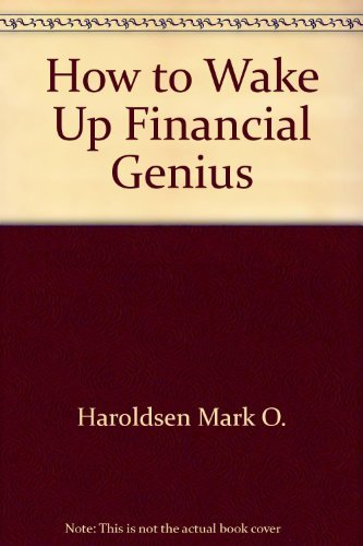 9780553234534: How to Wake Up the Financial Genius Inside You