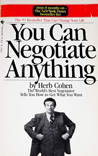 9780553234558: Title: You Can Negotiate Anything