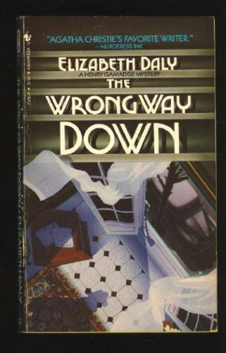 9780553234961: The Wrong Way Down (A Henry Gamadge Mystery)