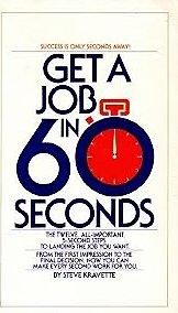 Get a Job In Sixty Seconds: Kravette, Steve