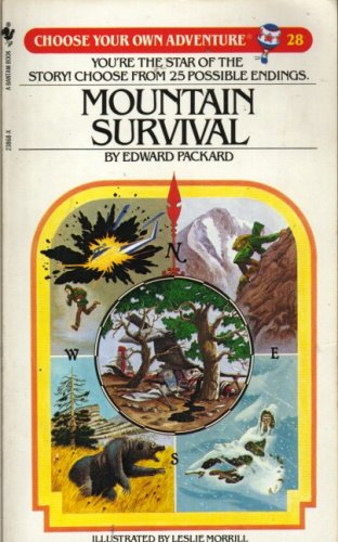 9780553238686: Mountain Survival (Choose Your Own Adventure: 28)