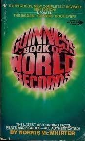 Guinness Book of World Records 1984: McWhirter, Norris