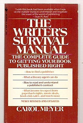 9780553241082: Writer's Survival Manual