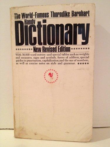 9780553242874: Thorndike Barnhart Handy Pocket Dictionary