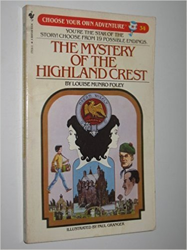 9780553243444: The Mystery of the Highland Crest (Choose Your Own Adventure 34)