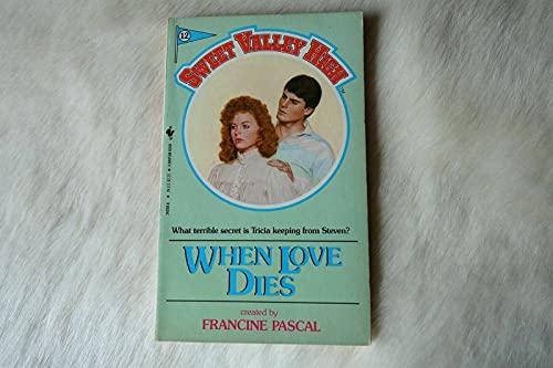 When Love Dies: Kate William