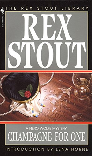 9780553244380: Champagne for One (Nero Wolfe)