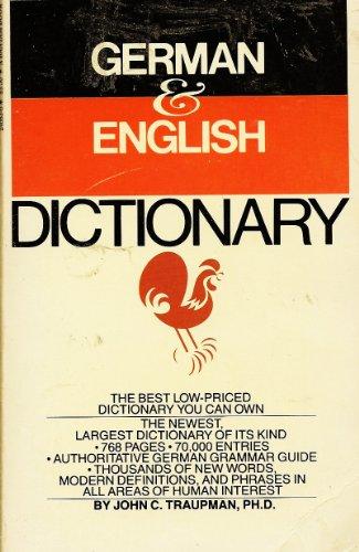 9780553246834: Bantam New College German/English Dictionary