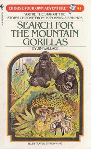 9780553247459: Search for the Mountain Gorillas (Choose Your Own Adventure, Book 41)
