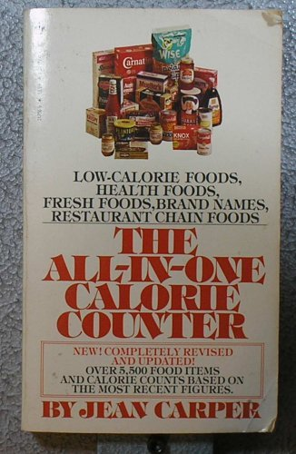 9780553247565: All in One Calorie Counter