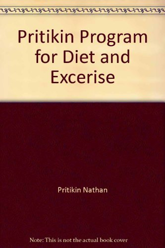 9780553247725: Pritikin Program for Diet and Exercise