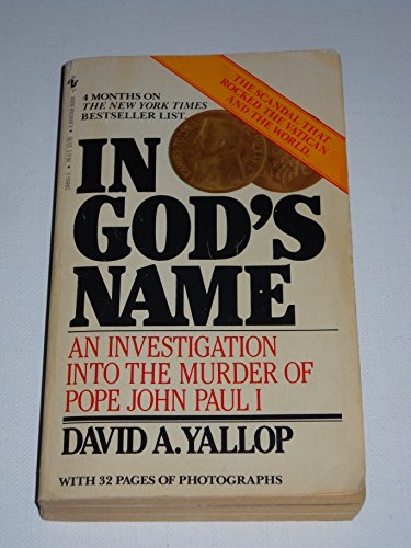 IN GOD'S NAME: Yallop, David