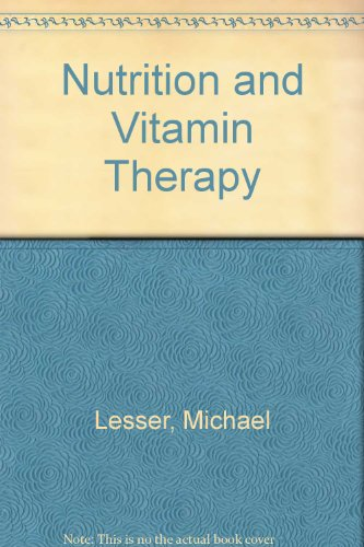 9780553252057: Nutrition and Vitamin Therapy