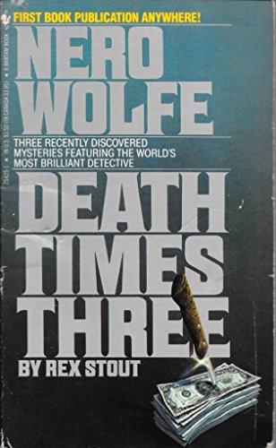 9780553254259: Death Times Three