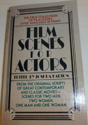 FILM SCENES FOR ACTORS: Editor-Joshua Karton