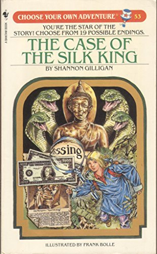9780553254891: The Case of the Silk King (Choose Your Own Adventure #53)