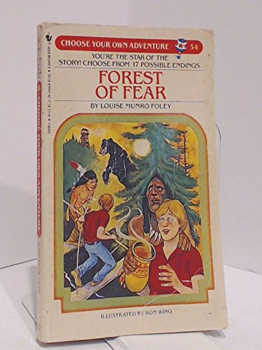 9780553254907: Forest of Fear (Choose Your Own Adventure)
