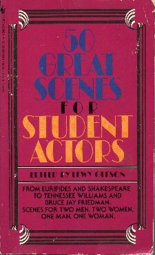 Fifty Great Scenes for Student Actors: Lewy Olfson