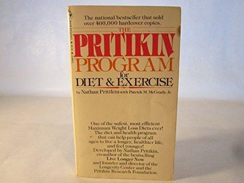 9780553256086: The Pritikin Program for Diet & Exercise