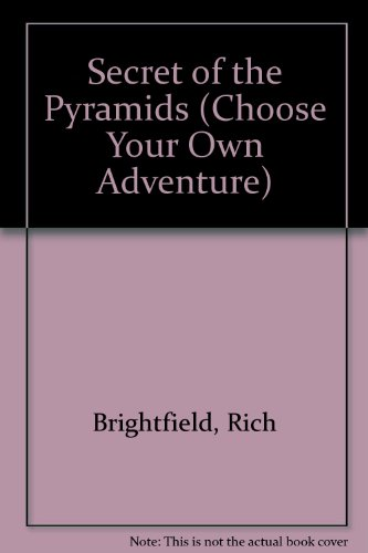 9780553257618: Secret of the Pyramids (Choose Your Own Adventure, No. 19)