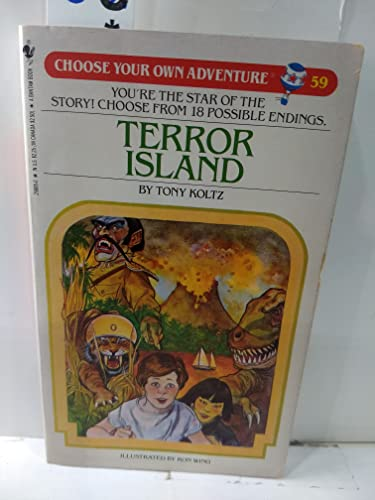 9780553258851: Terror Island (Choose Your Own Adventure, No. 59)