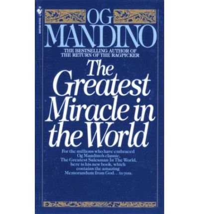 9780553259148: Title: The Greatest Miracle In the World