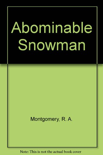 9780553259650: The Abominable Snowman