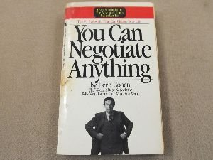 9780553259995: You Can Negotiate Anything
