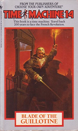 Blade of the Guillotine (Time Machine): Cover, Arthur Byron