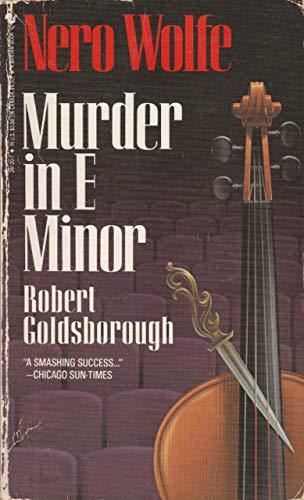 Murder in E Minor: Goldsborough, Robert