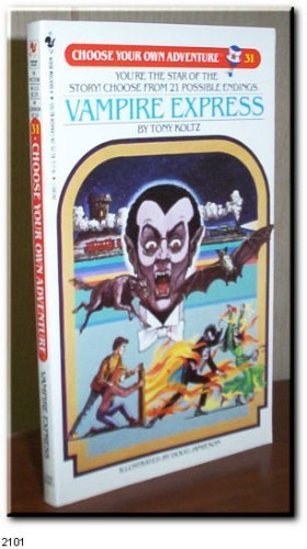 9780553261851: Vampire Express (Choose Your Own Adventure #31)