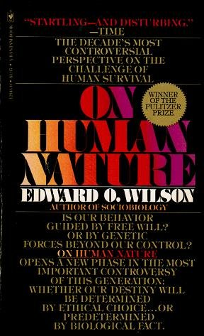 9780553262155: On Human Nature
