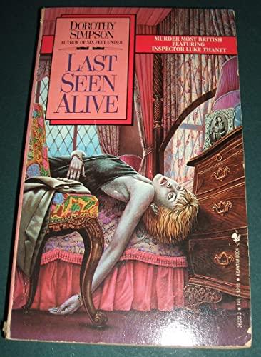 9780553262209: Last Seen Alive