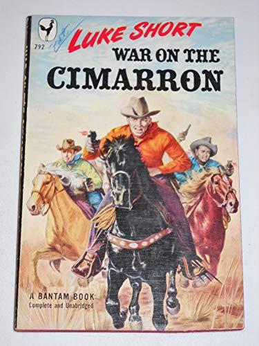 9780553262360: WAR ON THE CIMARRON