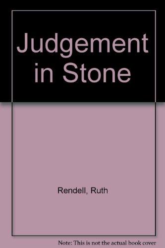 9780553262858: Judgement in Stone