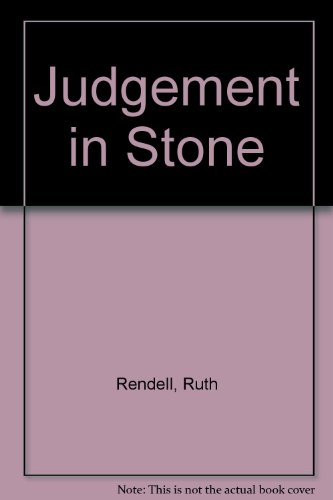 9780553262858: Judgement in Stone