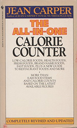 9780553263268: All-in-One Calorie Counter