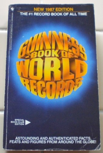 9780553264081: Guinness Book of World Records- 1987